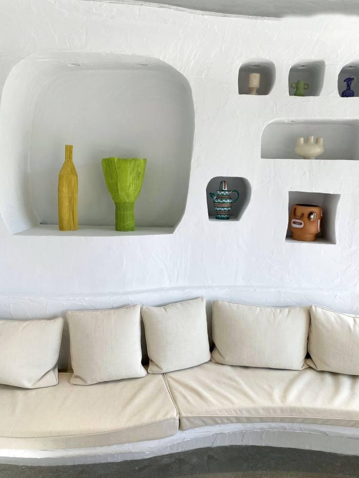 Simon Porte Jacquemus' interior design for Oursin restaurant in Paris