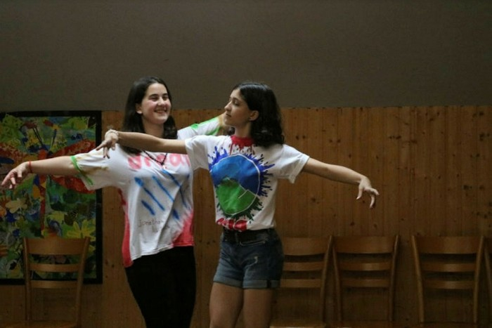 The Caucasus Connect summer arts camp is held in Georgia to encourage Azeri participants