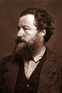 English poet, artist and social campaigner William Morris hoped work would bring rest, productivity and pleasure