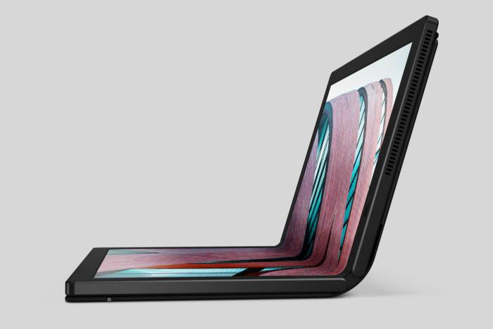 """""""Enchanting and practical"""": Lenovo ThinkPad X1 Fold, from £2,749.99"""
