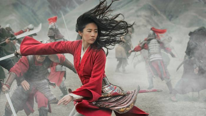 Liu Yifei in the film 'Mulan'