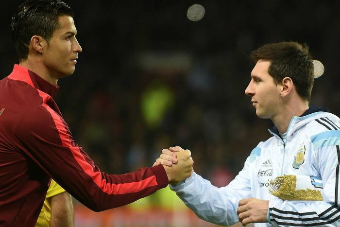 Ronaldo and Messi in 2014