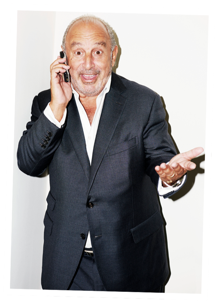 Philip Green: 'We rapidly got into a shouting match'