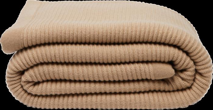 Brunello Cucinelli rib-knitted cashmere blanket, £2,620, matchesfashion.com
