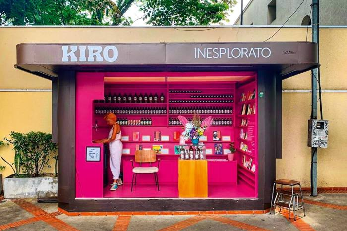 Banca do Kiro inSão Paulo's Pinheiros neighbourhood