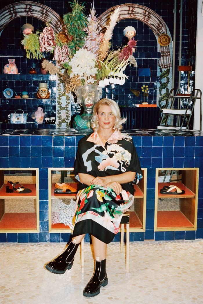 Barbara Maj Husted Werner, owner of Holly Golightly
