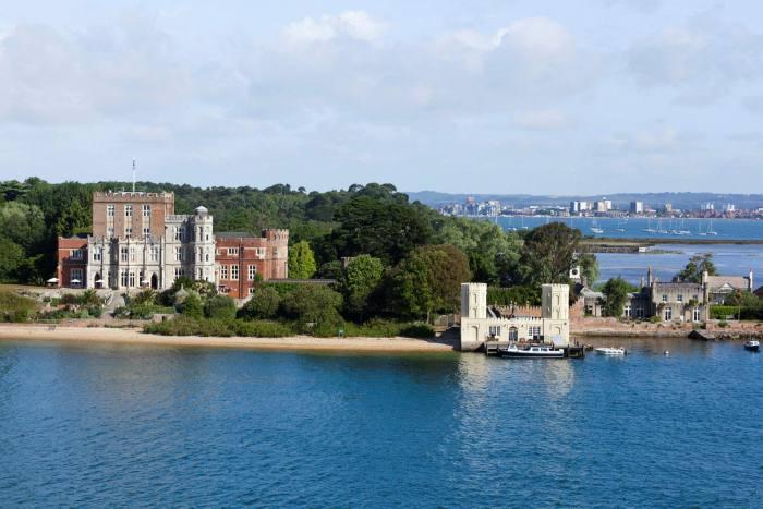 Brownsea Castle, Brownsea Island, Poole Harbor