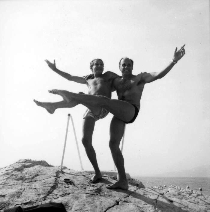 Helmut Newton and RalphGibson