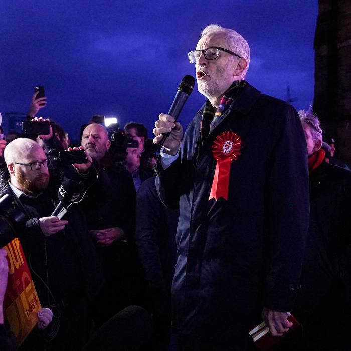 Despite a heavy defeat in the 2019 general election, Jeremy Corbyn claimed that on many issues 'we have won the arguments'