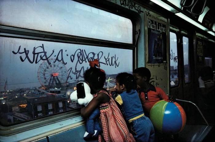 The New York Subway, 1980, by Bruce Davidson
