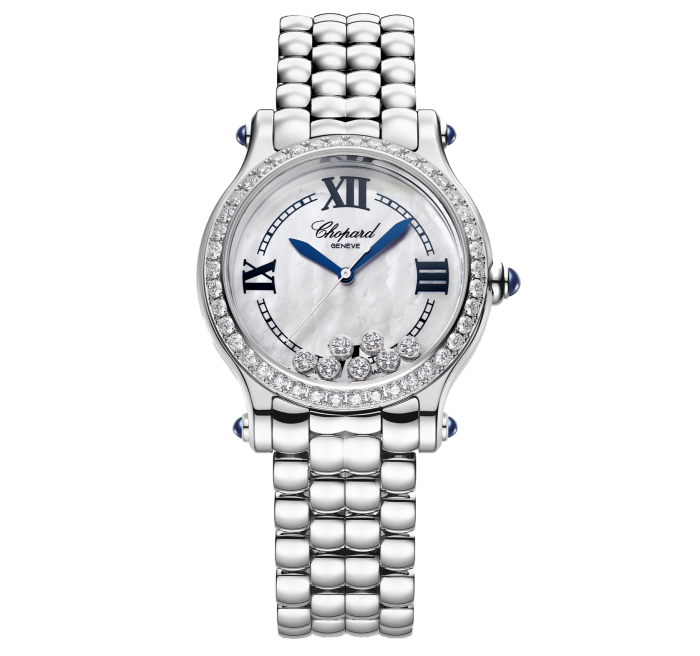 Chopard steel and diamond Happy Sport the First, limited edition of 788, £15,200
