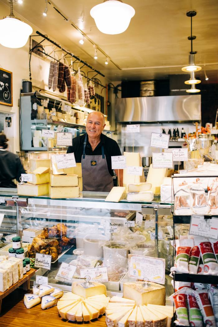 Imported cheese and local meats at Formaggio Kitchen