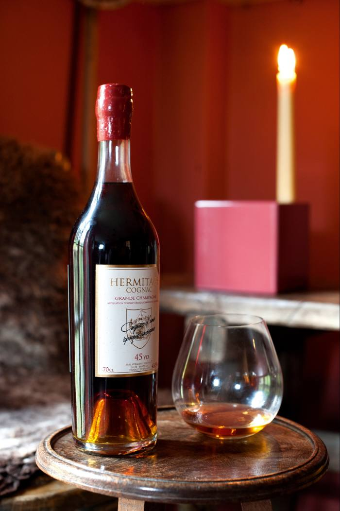 45-year-old Hermitage cognac, from £150