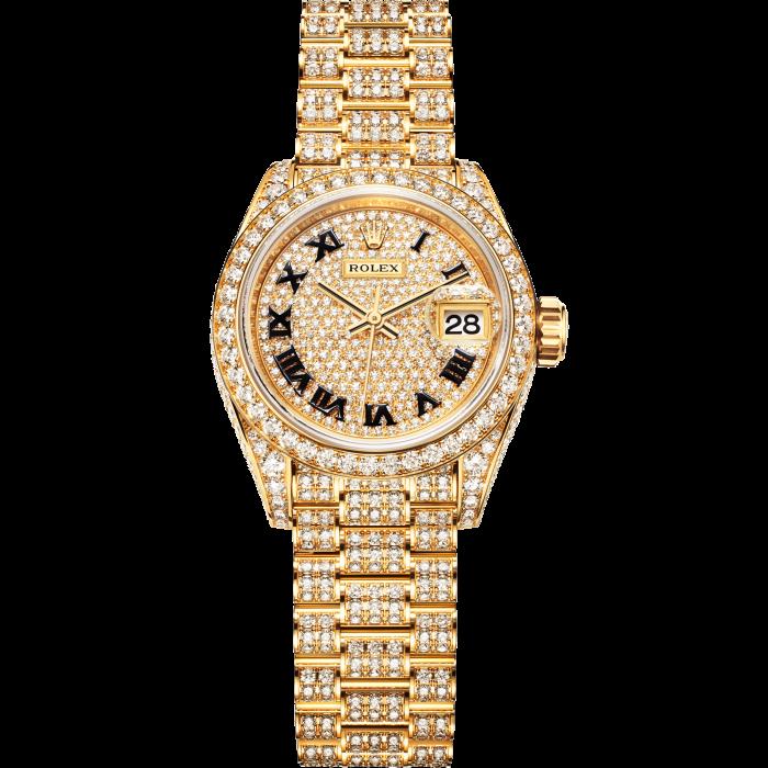Rolex gold and diamond Lady Datejust, £105,100