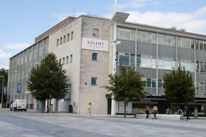 Solent University in Southampton