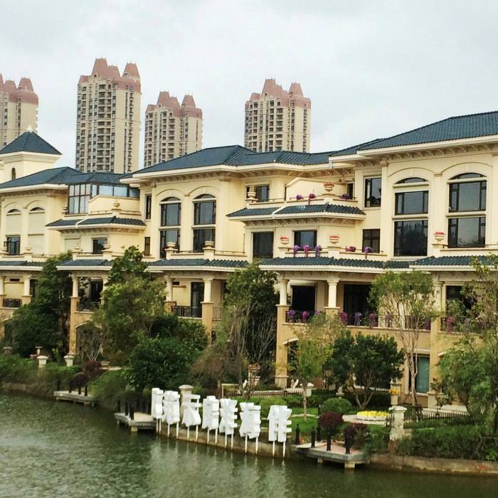 At Evergrande Venice, named for the city which inspired it and the developer who built it, apartments can be found for as little as a fifth of the prices in one Shanghai neighbourhood