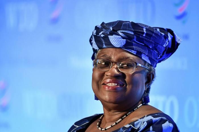 former Nigerian finance minister Ngozi Okonjo-Iweala