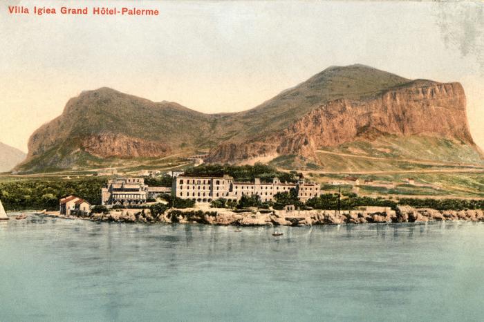 Postcard from 1912 of Villa Igea