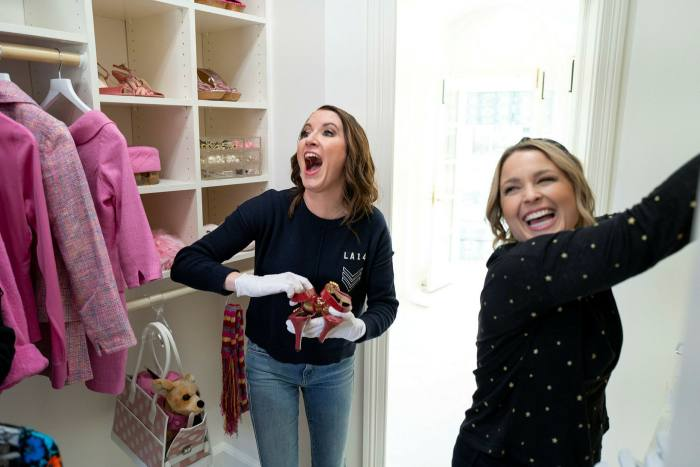 'Cleanfluencers' Clea Shearer and Joanna Teplin in an episode of their Netflix series 'Get Organized with The Home Edit'