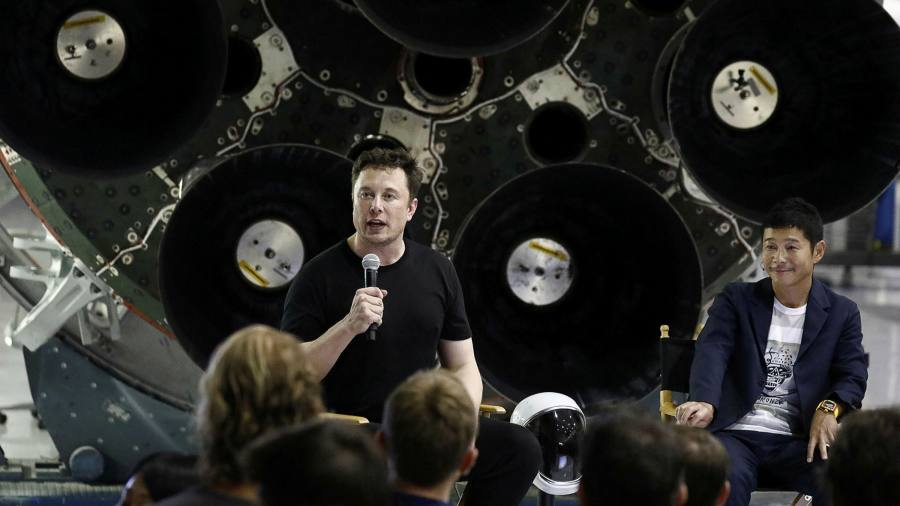 SpaceX passenger brought down to earth by tax evasion allegations