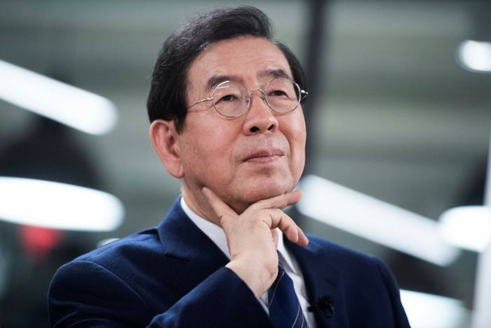 Park Won-soon, the mayor of Seoul: 'We must shake off the fantasy that we can go back to the past we were accustomed to'