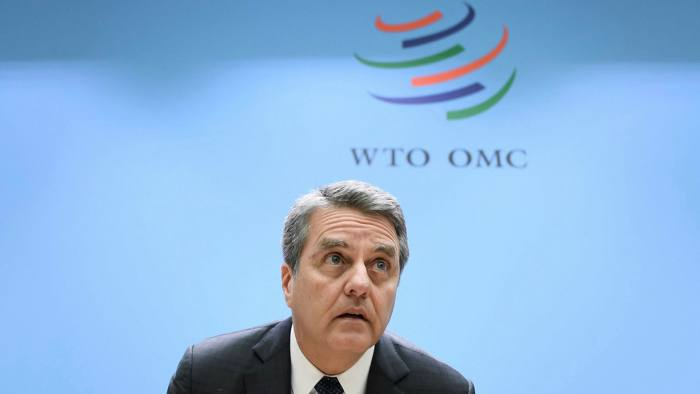 Roberto Azevêdo told WTO ambassadors on Thursday that he will end his term of office this September