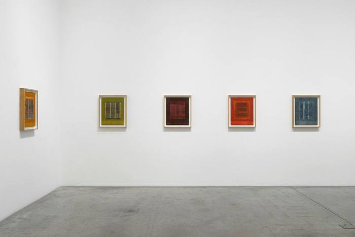 Installation view of 'Idris Khan: The Turning of the Seasons'
