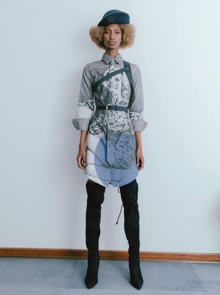 Thebe Magugu cotton dress, £430