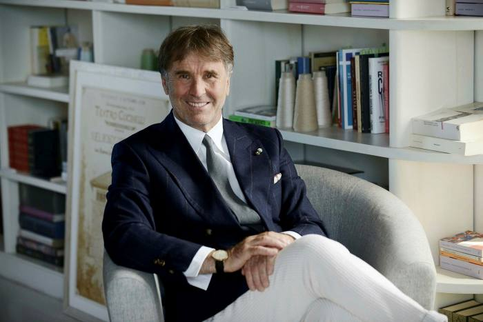 Brunello Cucinelli's  high-end cashmere knitwear brand is already seeing renewed demand in China