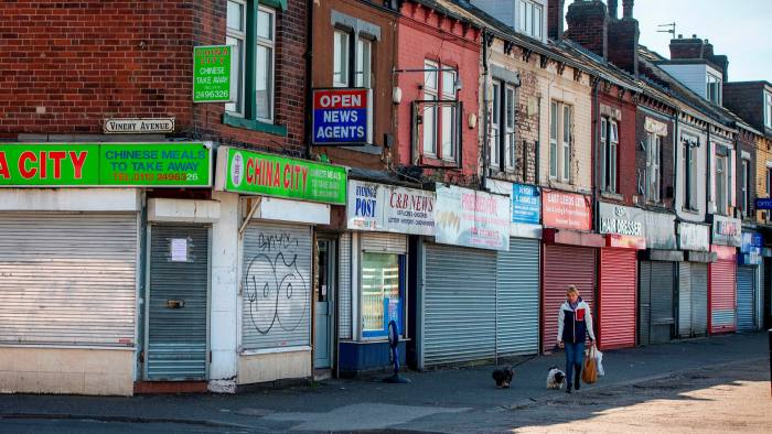 Closed shops in Leeds