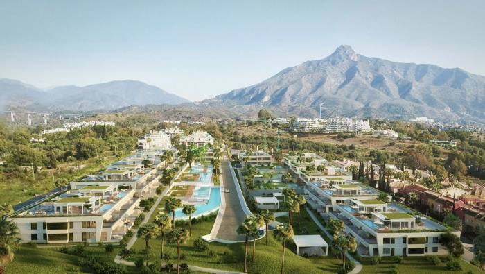 Epic Marbella, the area's first designer-branded residence development, is furnished by Fendi Casa