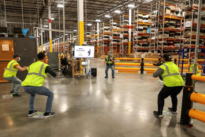 Health and safety: solutions created for Amazon's own needs, such as having to test its warehouse workers for Covid, are being retooled for use by others