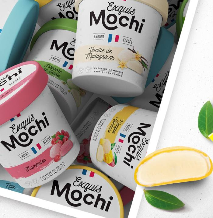 French brand Exquis Mochi makes mochi ice-cream