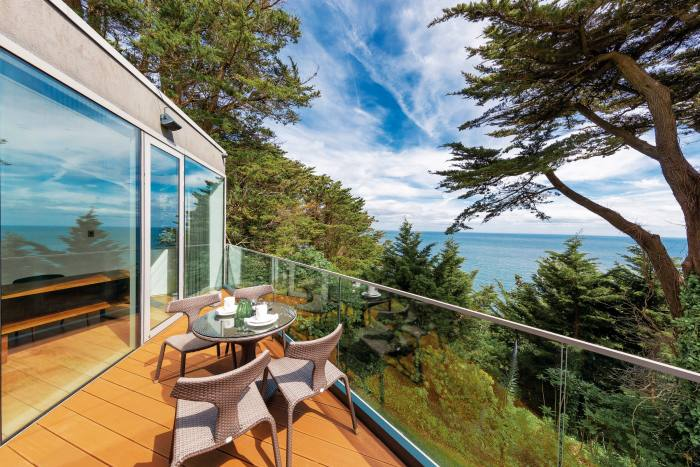 The three-bedroom St Elmo Lodge in Dalkey, Dublin, €3.9m through Sherry Fitzgerald