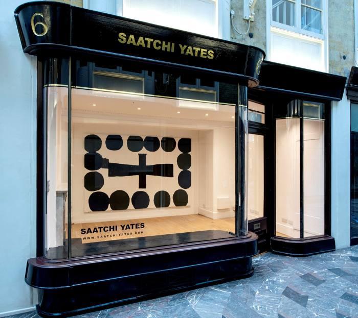 Saatchi Yates gallery in London's Burlington Arcade