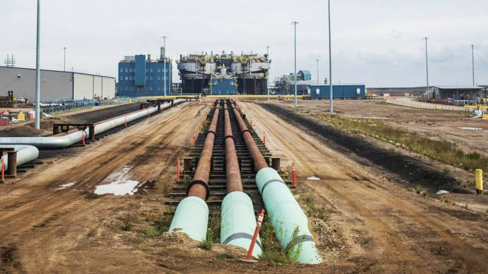 Pipeline: Alberta's oil sands