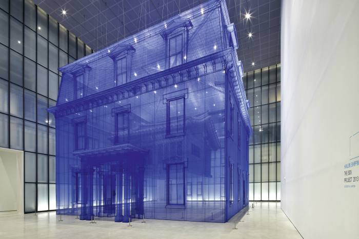 A Do Ho Suh house at MMCA art gallery