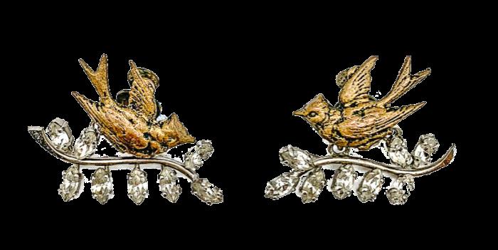 1950s Dior by Mitchel Maer earrings, £1,395 from Jennifer Gibson Jewellery