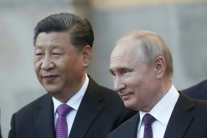 Russian President Vladimir Putin hosts his Chinese counterpart, Xi Jinping, in June 2019