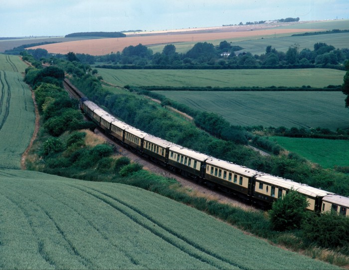 The train departs from London Victoria to destinations such as Cardiff, Bristol and Bath