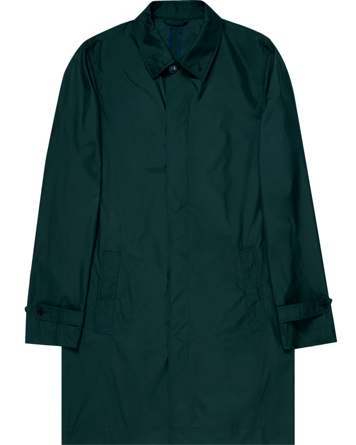 Paul Weller for Sunspel recycled polyester mac, £325