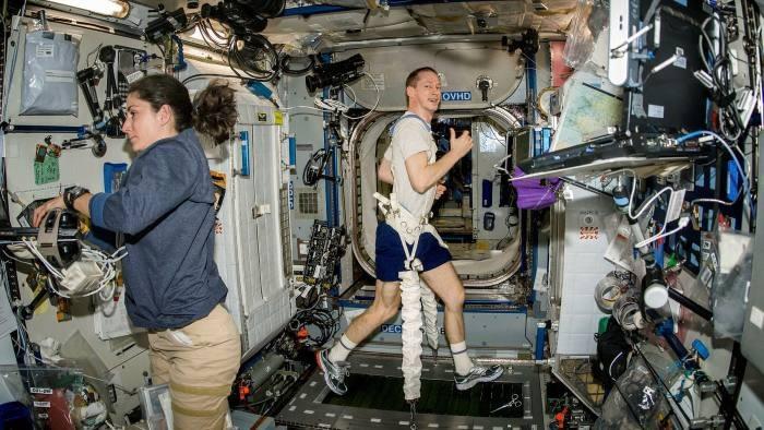 European Space Agency astronaut Frank De Winne