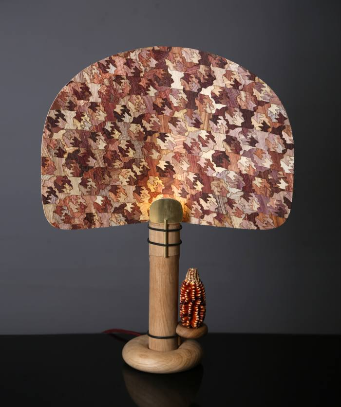 Fernando Laposse corn-husk Totomoxtle lamp, £2,900