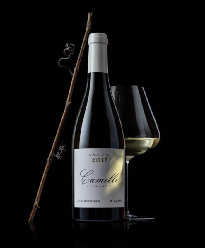 Camille Volibarts 2018 chardonnay, £130