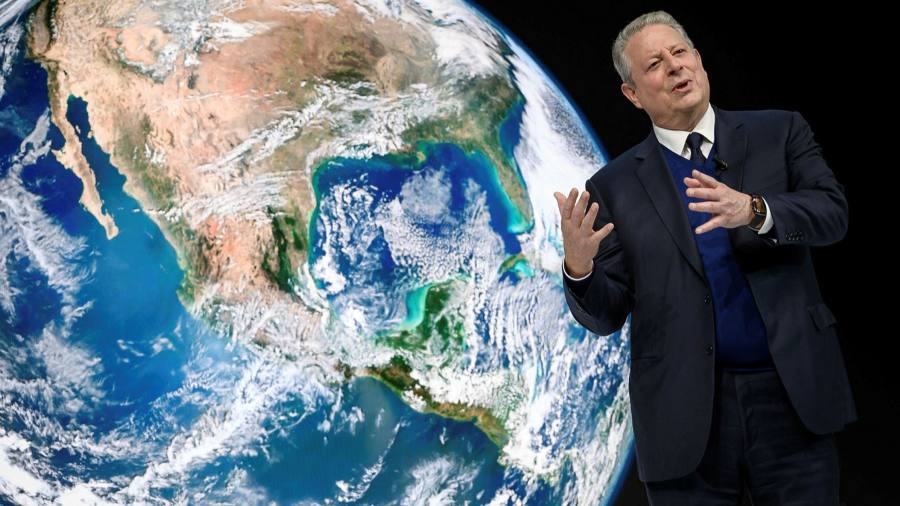 Al Gore urges overhaul of global finance to cut greenhouse gases