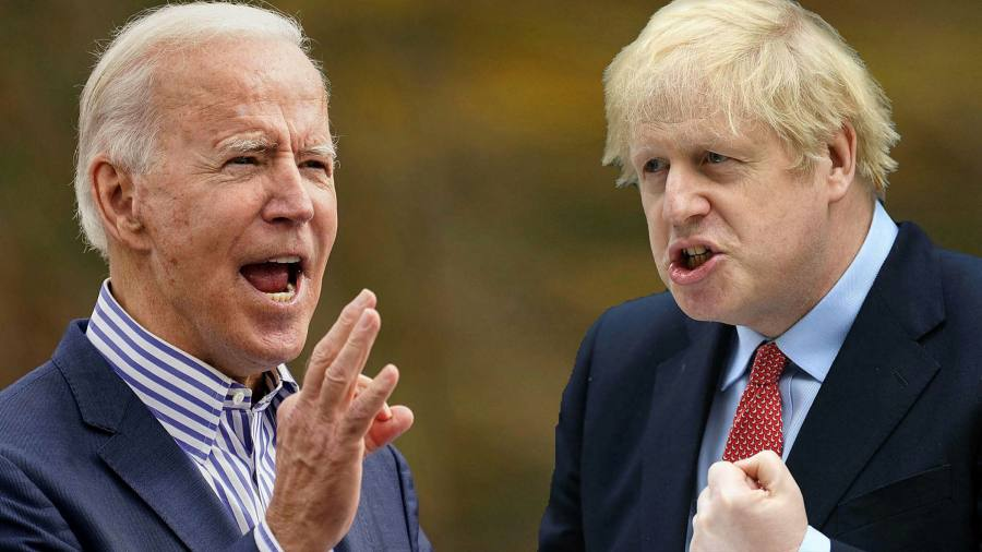 A Biden win will save Britain's Tories from themselves