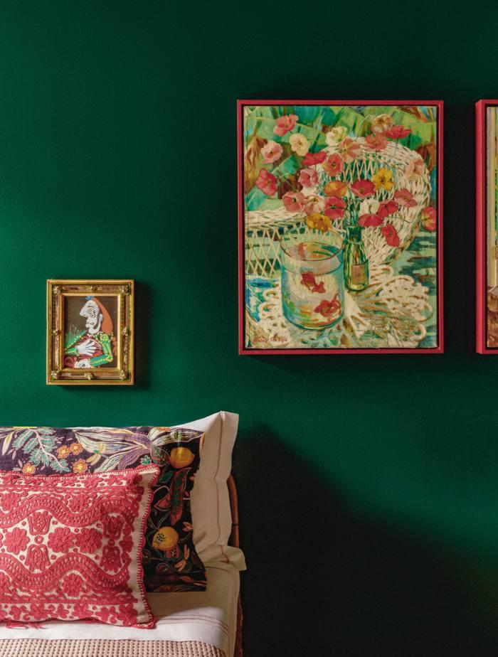 DoubleJ prints in JJ Martin's apartment in Milan