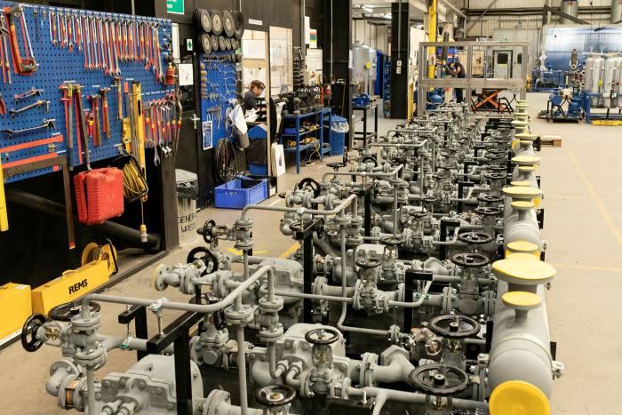 Spirax Sarco's factory in Cheltenham