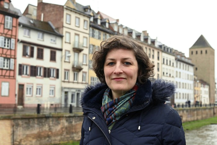 Strasbourg city mayor Jeanne Barseghian
