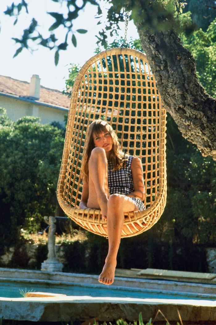 Jane Birkin in LaPiscine, 1969